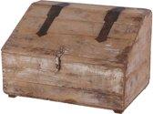 Vintage houten buro box