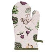 Clayre & Eef ovenhandschoen groenten