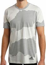 Adidas Herenshirt Freelift Graphic Camouflage - Maat M