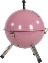 Kogelbarbecue - Tafelbarbecue - Ø32cm soft roze - BBQ - Barbeque