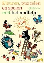 Molletje - Kleuren, knutselen en spelen met Molletje