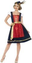 Traditioneel Beierse kostuum voor vrouwen  - Verkleedkleding oktoberfest dames maat L (44-46)