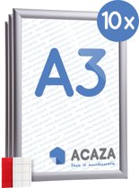 Acaza Kliklijst - Set van 10 - A3 Formaat - Aluminium