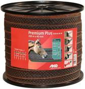 Ako Premium Plus Lint Bruin/oranje 40mm 200m