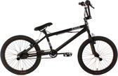 Ks Cycling Fiets 20'' freestyle-BMX Four zwart - 26 cm