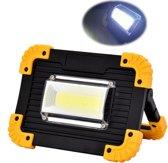 Bright Light LED werklamp - incl. 2 oplaadbare Li-ion Accu's - powerbank