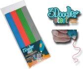 3Doodler Start Navulverpakking - grijs, blauw, groen, rood
