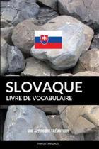 Livre de Vocabulaire Slovaque