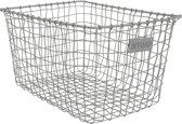 Stapelgoed basket grey large