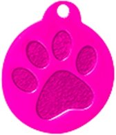 Rond Paw Groot Roze