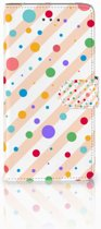 Samsung Galaxy J7 (2018) Bookcase hoesje Design Dots