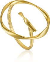 Ania Haie Ring AH R015-01G - Zilver Goldplated