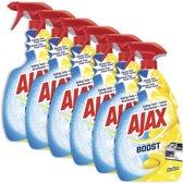 Ajax Boost Soda & Citroen spray 6 x 750ml