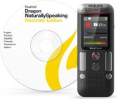 Philips DVT2710 Intern geheugen & flash-kaart Antraciet, Chroom dictaphone