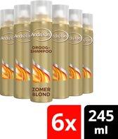 Andrélon Zomerblond Droog Shampoo - 6 x 245 ml - Voordeelverpakking