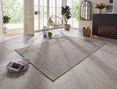 Binnen & buiten vloerkleed Dreux Elle Decor - grijs 160x230 cm