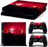 Pyro - PS4 Console Skins PlayStation Stickers