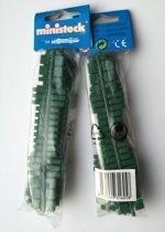 Ministeck aanvulling donkergroen kleurcode 31605 - 5 strips in verpakking