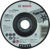 Doorslijpschijf gebogen Best for Inox - Rapido A 60 W INOX BF, 125 mm, 22,23 mm, 1,0 mm 1st