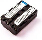 Battery similar SONY NP-FM500H, Li-ion, 7,4V, 1600mAh, 11,8Wh, black