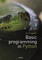 Basic programming in Python