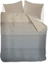 Beddinghouse Lunas - Dekbedovertrek - Lits-jumeaux - 240x200/220 cm + 2 kussenslopen 60x70 cm - Grey