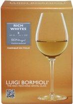 Luigi Bormioli Rich Wines Witte Wijnglas - 0.49 l - 2 stuks