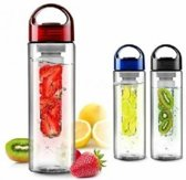 Waterfilter Waterfles met fruit filter BPA VRIJ! ROOD