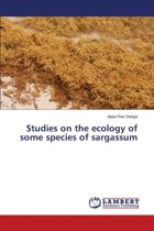 Studies on the Ecology of Some Species of Sargassum