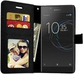 Sony Xperia XZ2 Portemonnee hoesje / book case Zwart