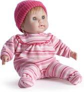 Berenguer babypop Nonis zacht lijfje blond haar met slaapogen