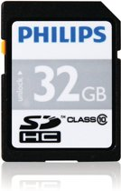 Philips SD Card 32GB - Ultra Speed - Class 10 - SD Kaart