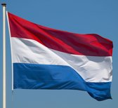 Grote Nederlandse vlag 150x90cm | Hollandse driekleur | Nederland vlag