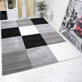 Vloerkleed - 2500 gr per m² - Infinity - Grijs - 6392 - 80x300 cm - 13 mm