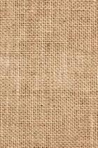 2019 Daily Planner Brown Burlap Faux Texture 384 Pages