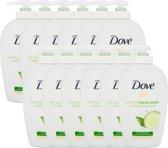 Dove Handzeep Cucumber & Green tea - 12 x 250ML - Voordeelverpakking