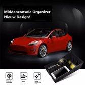 Tesla Model 3 Middenconsole Organizer V2 Opbergbak Zonnebril Munt Horloge en pashouder Accessoires