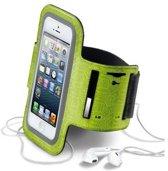 Cellularline ARMBANDL Armband doos Groen mobiele telefoon behuizingen