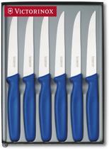 Victorinox Steakmessenset - 6-Delig - Blauw