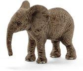 Schleich Afrikaanse olifant baby 14763 - Speelfiguur - Wild Life - 6,8 x 3,5 x 5,5 cm