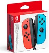 Cover van de game Nintendo Joy-Con Controller paar - Rood/Blauw - Switch