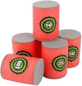 Foam Blik Targets voor Nerf (set van 6 stuks)