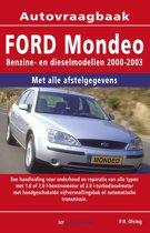 Vraagbaak Ford Mondeo deel Benzine- en dieselmodellen 2000-2003
