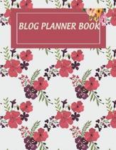 Blog Planner Book