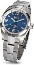 Tutti Milano TM800BL - Horloge - 40 mm - Zilverkleurig - Collectie Bacio