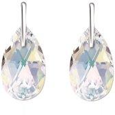 Bibiza oorbellen paar SH30 - Peer 16mm Crystal AB