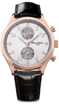 William L. 1985 WLOR02GOCN horloge heren - bruin - edelstaal PVD ros�