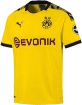 PUMA Borussia Dortmund Home Shirt Replica 2019/2020 Heren - Cyber Yellow-Puma Black - Maat M