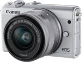 Canon EOS M100 + 15-45mm + 50GB Irista - Wit