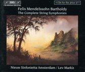 Mendelssohn: Complete String Symphonies / Lev Markiz, et al